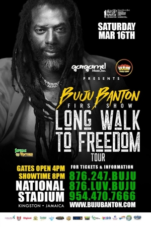 Reggae Revolution.it ACCREDITATI AL CONCERTO DI BUJU BANTON IN GIAMAICA