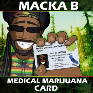 MACKA B  - MARIJUANA CARD - VIDEO + TESTO
