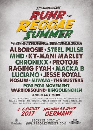 SUPER LINE UP AL RUHR REGGAE SUMMER