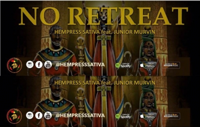 HEPRESS SATIVA FT. JUNIOR MURVIN - NO RETREAT