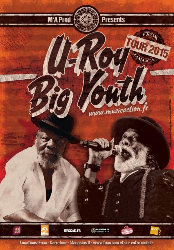 U ROY & BIG YOUTH LIVE IN CONCERT