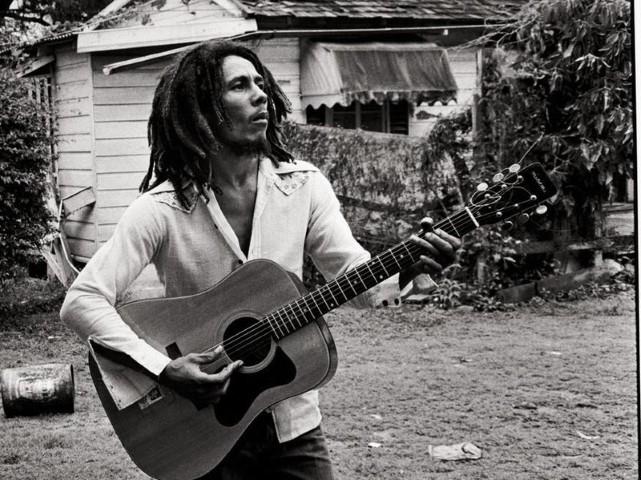 Bob Marley chitarra asta