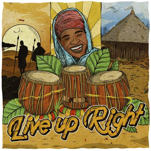 LIVE UP RIGHT - ISHMEL MCANUFF ft. ROOTS CHEFS