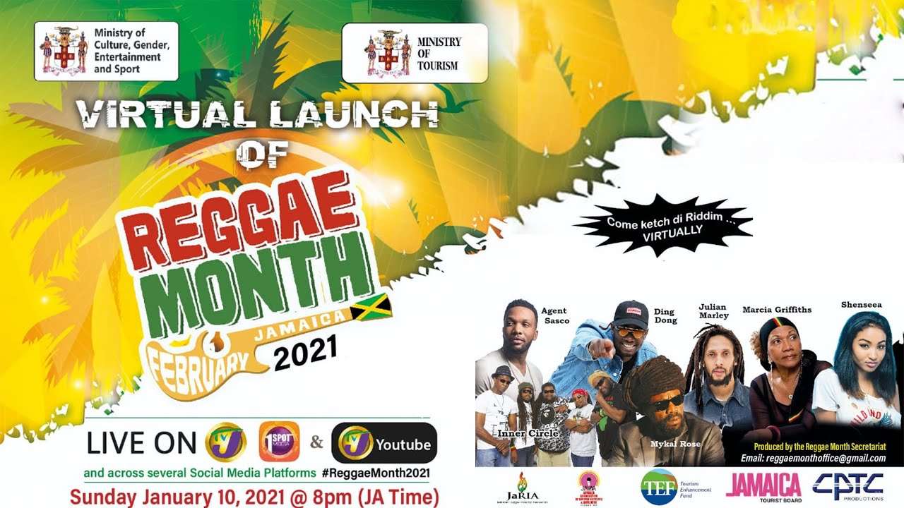 reggae month 2021 virtual