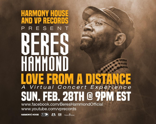 BERES HAMMOND – LIVE VIRTUAL CONCERT