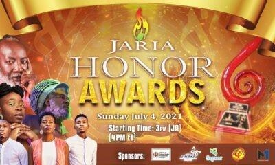 JARIA HONOUR AWARDS 2021
