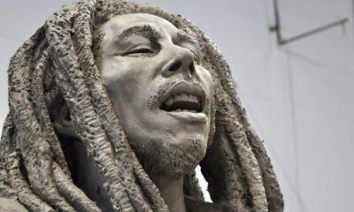 Bob Marley statua