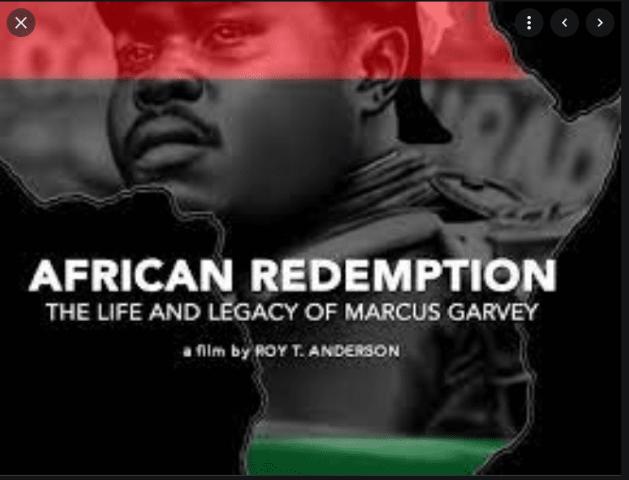 NUOVO DOCUMENTARIO SU MARCUS GARVEY - AFRICAN REDEMPTION