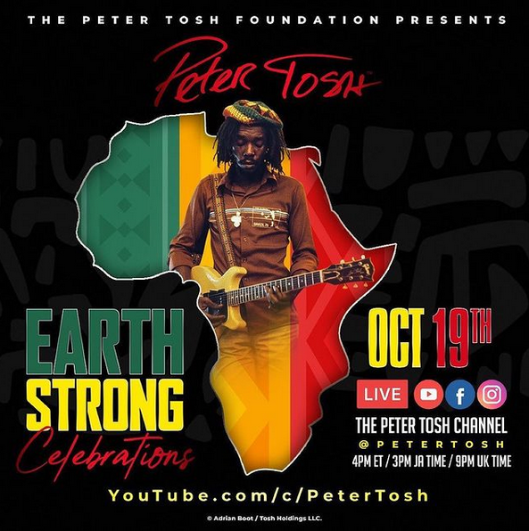 PeterTosh Celebration streaming
