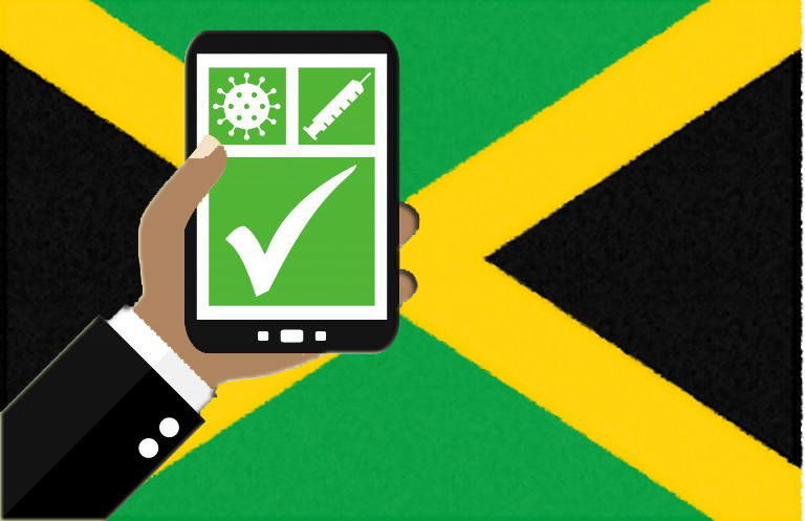 qr code giamaica green pass